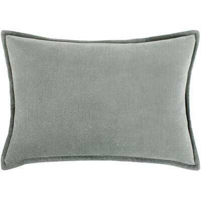Janari Velvet Lumbar Pillow Cover - Wayfair