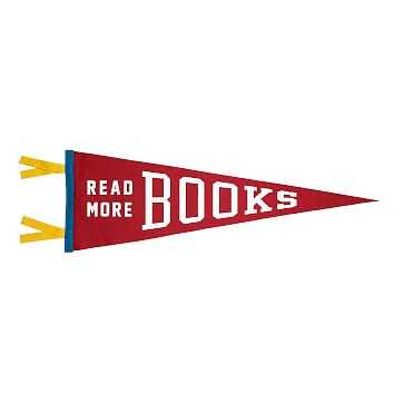 Read More Books Pennant - West Elm