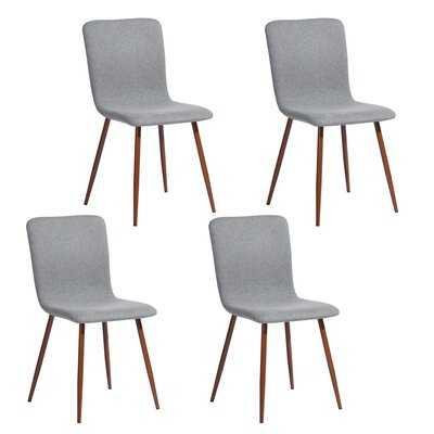 Wareham Upholstered Dining Chairs (set of 4) - Wayfair