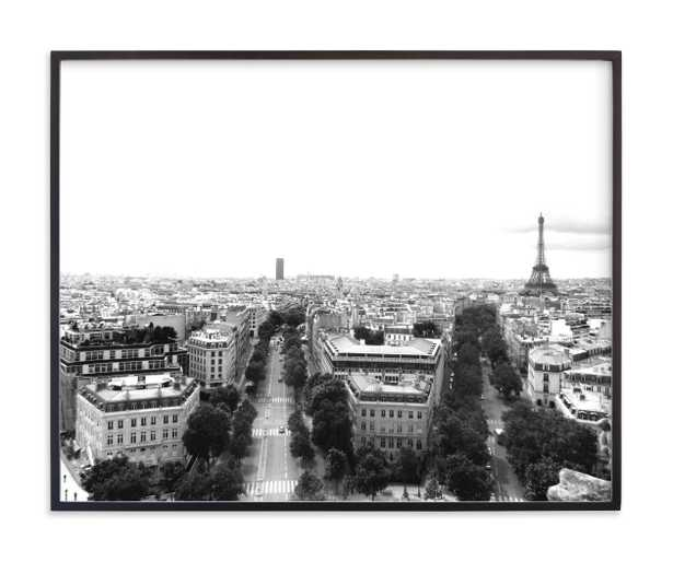 The Streets Of Paris Limited Edition Art Print - Minted