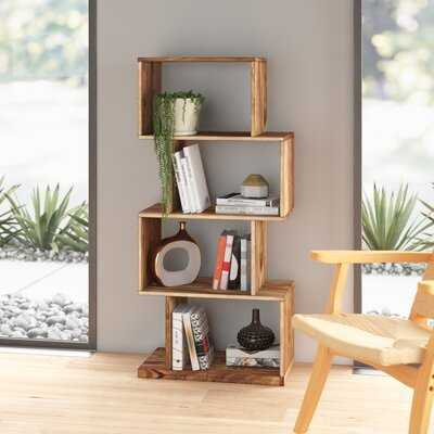 Cathryn Geometric Bookcase - AllModern