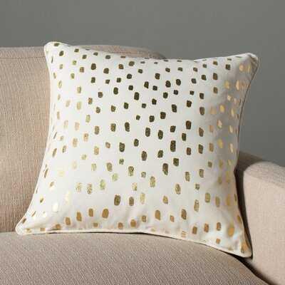 Glenwood Dalmatian Dot Cotton Animal Print Throw Pillow Cover - AllModern