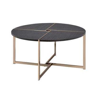 Mateus Cross Legs Coffee Table - Wayfair