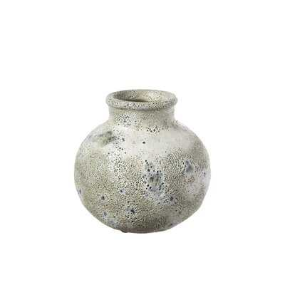 Vrtanes Light Brown Ceramic Table Vase - Wayfair