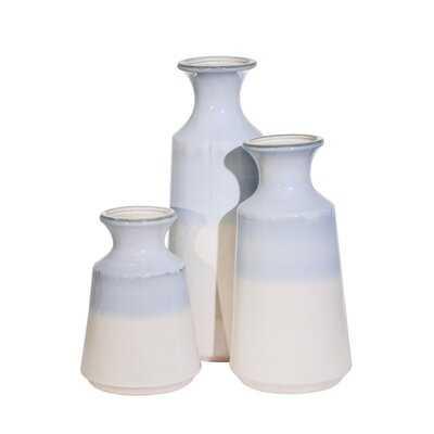 """Tolentino Multi 15.5"""" Ceramic Table Vase - Wayfair"""