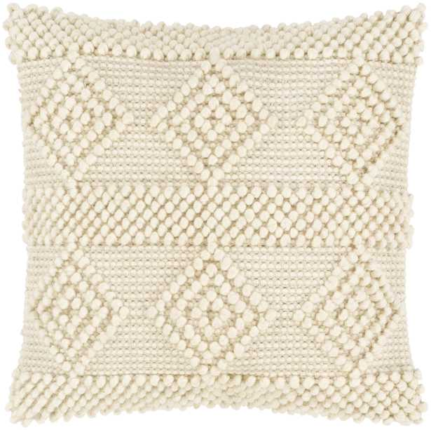 """Hygge - HYG-003 - 20"""" x 20"""" - with poly insert - Neva Home"""