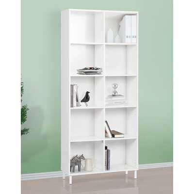 "Dauntay 73.6"" H x 31.5"" W Standard Bookcase - Wayfair"