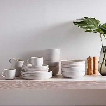 Kaloh Dinnerware, Set of 20, White - West Elm