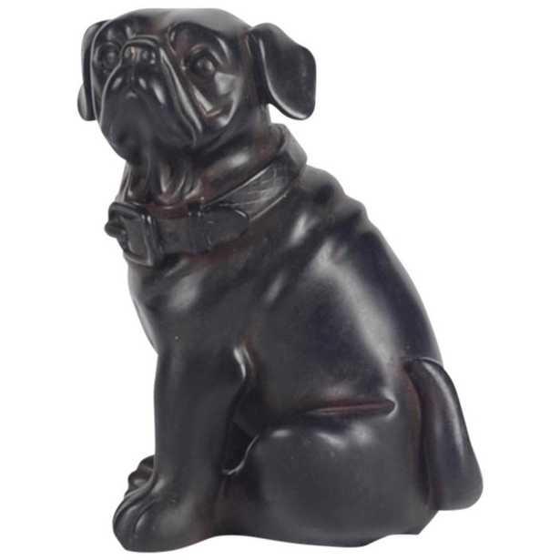 Mercana Cadence Decorative Object, Black - Home Depot