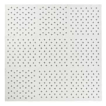 Foam Tile Play Mat Criss Cross, 9 Piece, Black/White, WE Kids - West Elm