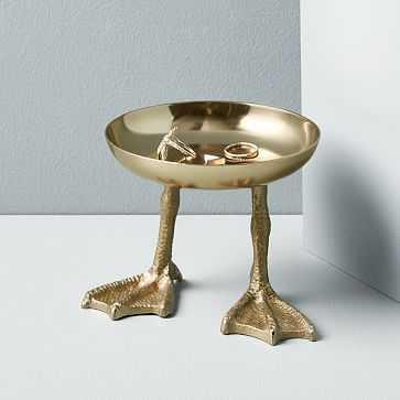 Duck Trinket Tray, Polished Brass - West Elm