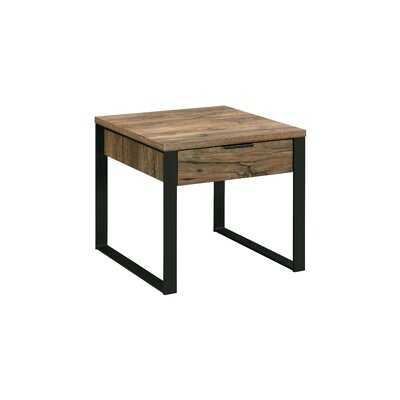 Coppage Sled End Table with Storage - Wayfair