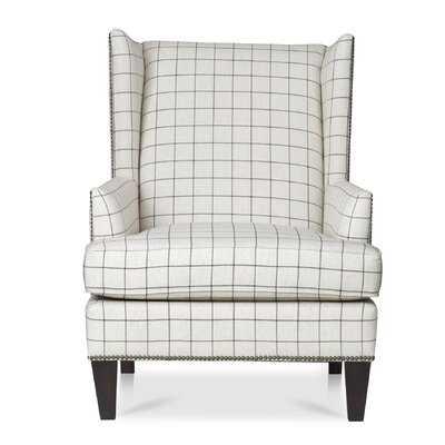"""Vakil 23"""" Wingback Chair - Wayfair"""