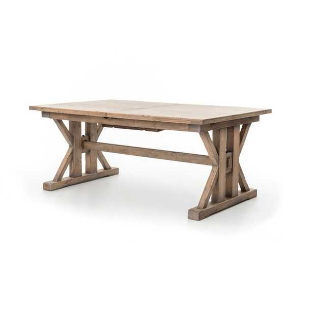Four Hands Tuscan Spring Extendable Solid Wood Dining Table - Perigold