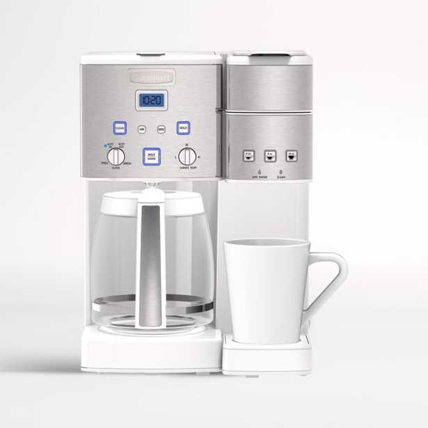 Cuisinart ® Coffee Center ™ Coffeemaker and Single-Serve Brewer - Crate and Barrel