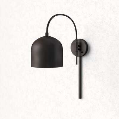 Amora 1 - Light Dimmable Plug-In Armed Sconce - AllModern
