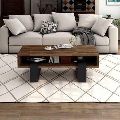 Sled Coffee Table with Storage - Wayfair