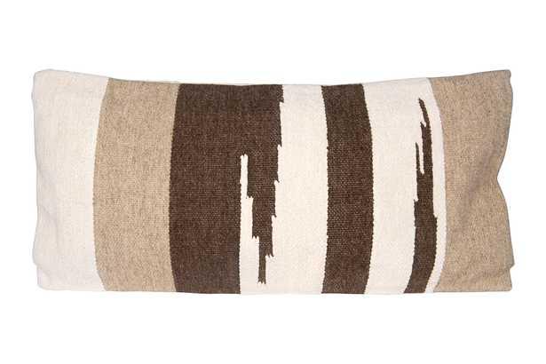 "Cairo Lumbar Pillow, 16""x36"" - Roam Common"