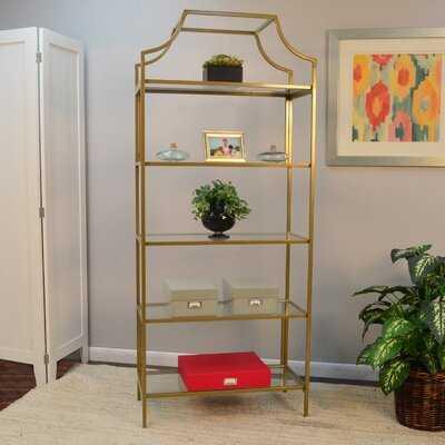 "Malmberg 70.625"" H x 30'' W Metal Etagere Bookcase - Wayfair"