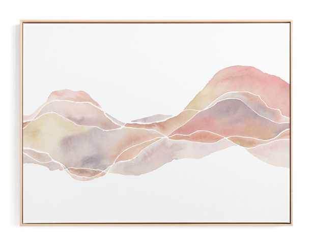 Palm Desert Frame Canvas - Minted