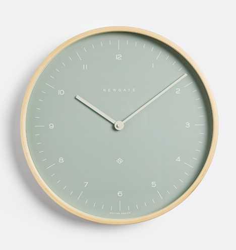 Medium Sea Glass Mr. Clarke Wall Clock - Rejuvenation