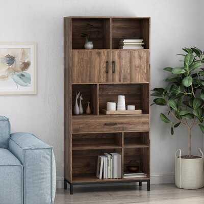 Cherell Faux Wood Standard Bookcase - Wayfair