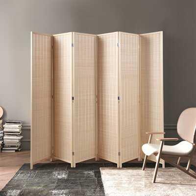 Arna 106.5'' 6 - Panel Folding Room Divider - Wayfair