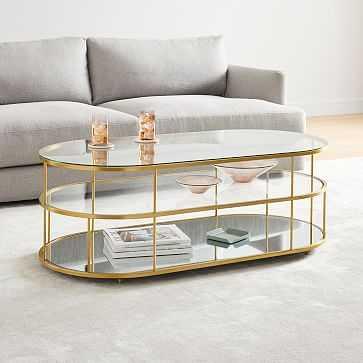 Terrace Pill Coffee Table - West Elm