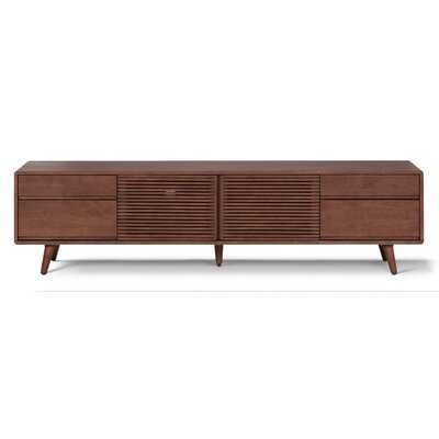 """Middlet Solid Wood TV Stand for TVs up to 88"""" - AllModern"""