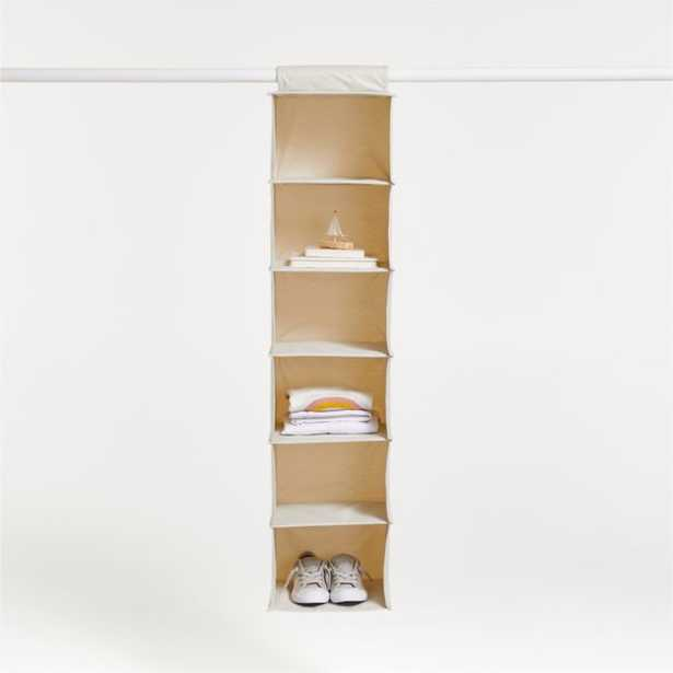Canvas Wide Hanging Organizer - Crate and Barrel