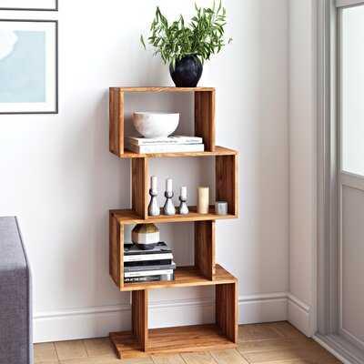 Medeiros Geometric Bookcase - Wayfair