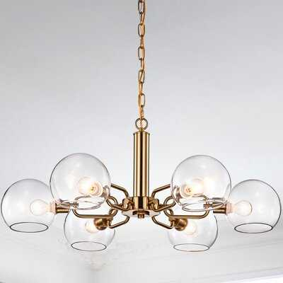 Stephengould 6 - Light Sputnik Sphere Chandelier - Wayfair