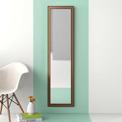 Djanira Modern & Contemporary Over-the-Door with Cork Surround Full Length Mirror - Wayfair