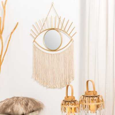 Komon Regency Eye Modern Accent Mirror - Wayfair