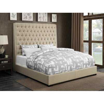 Jarratt Upholstered Standard Bed - Wayfair