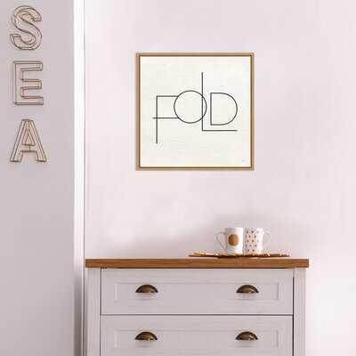 Wash Dry Fold III Laundry By Jess Aiken Framed Canvas Art - Wayfair