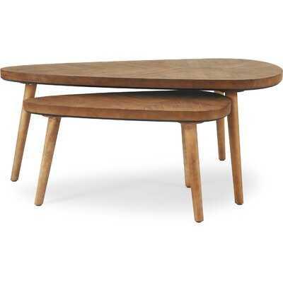 Wojcik 2 Piece Coffee Table Set - Wayfair