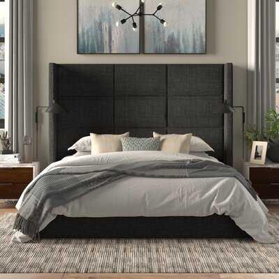 Akain Upholstered Standard Bed- California King - Wayfair