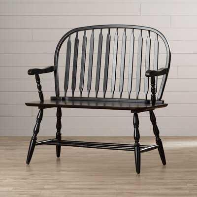 Sylvere Wood Bench - Wayfair