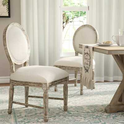 Clintwood Side Chair in Natural Beige - Wayfair