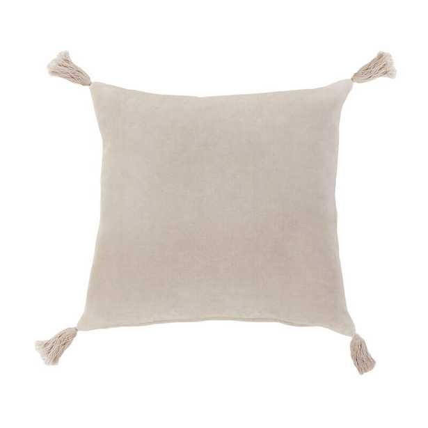 Pom Pom At Home Bianca Cotton Throw Pillow Color: Blush - Perigold
