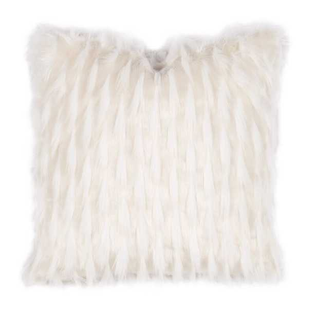 Geode Luxe Faux Fur Throw Pillow - Pillow Cover & Insert - Perigold