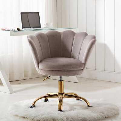 Weingartner Home Office Velvet Task Chair - Wayfair