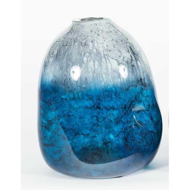 "Prima Design Source Rock Table Vase Size: 12"" H x 8"" W x 8"" D - Perigold"
