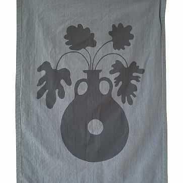 Claudia Pearson Ebb & Flow Tea Towel, Plant - West Elm