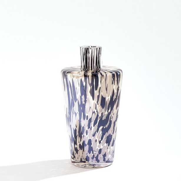 "Global Views Confetti Shoulder Vase-Black/Beige-Lg Size: 10.5"" H x 5.5"" W x 5.5"" D - Perigold"