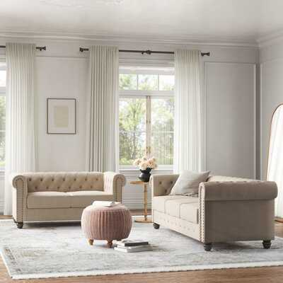 Provence 2 Piece Standard Living Room Set - Wayfair