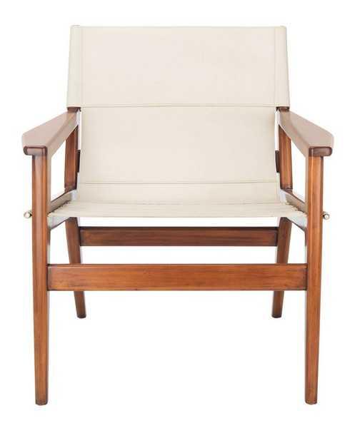 Jensen Leather Sling Chair - Haldin