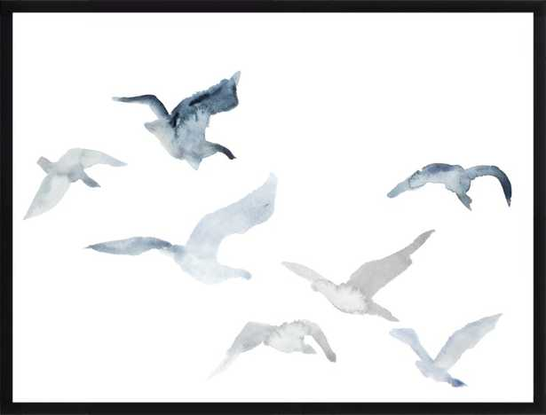 Winter Geese No. 3 by Elizabeth Becker for Artfully Walls - Artfully Walls