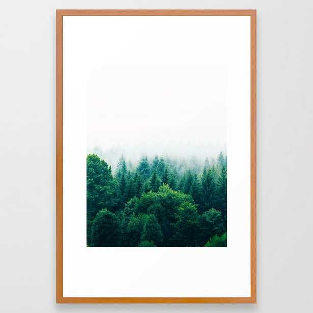 Adventure #society6 #decor #buyart Framed Art Print by 83 Orangesa(r) Art Shop - Conservation Pecan - LARGE (Gallery)-26x38 - Society6